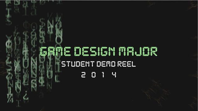 CIA Game Design Major Demo Reel