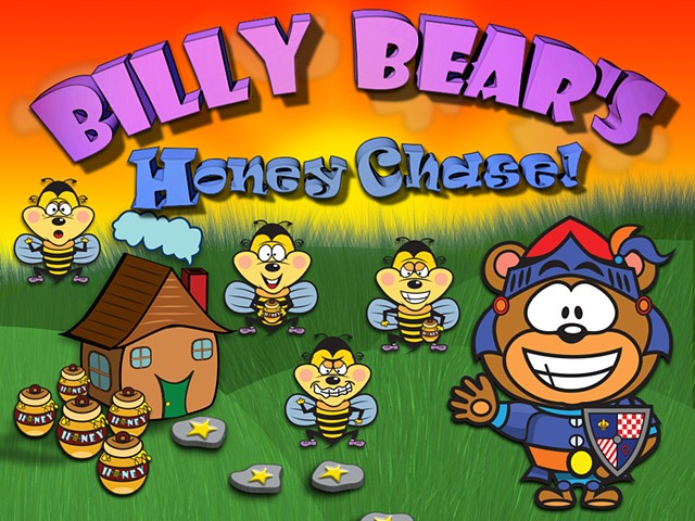 Billy Bear's Honey Chase - Apple iOS Mobile App.
