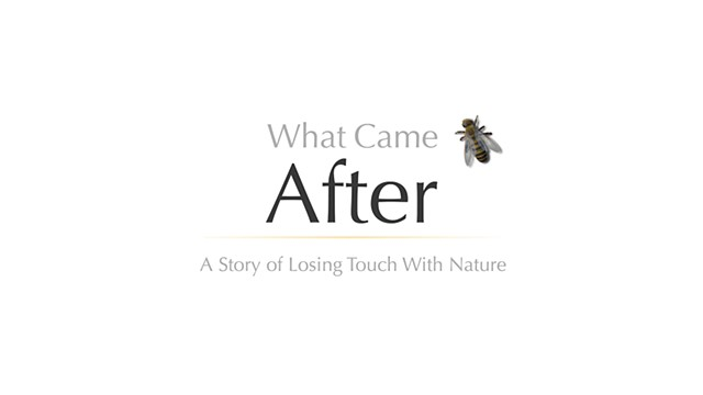What Came After: A Story of Loosing Touch with Nature
