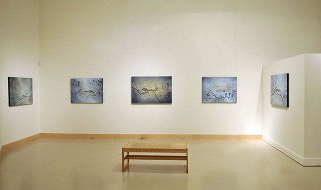 WCU Exhibition Installation View