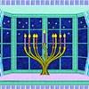 Menorah in the Window #2