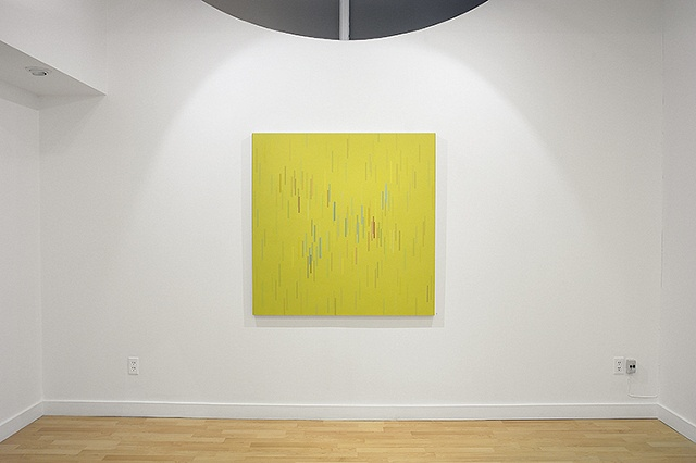 Installation view of Untitled 01 2009