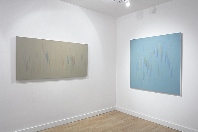 Installation view of Untitled 13 & 03 2009