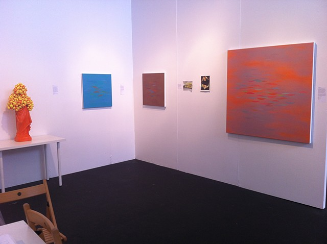 Installation at artMRKT San Francisco 2013, courtesy p|m gallery
