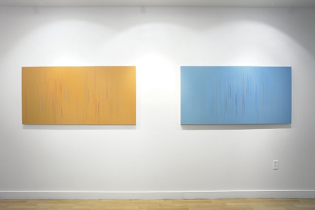 Installation view of Untitled 12 & Untitled 10 2009