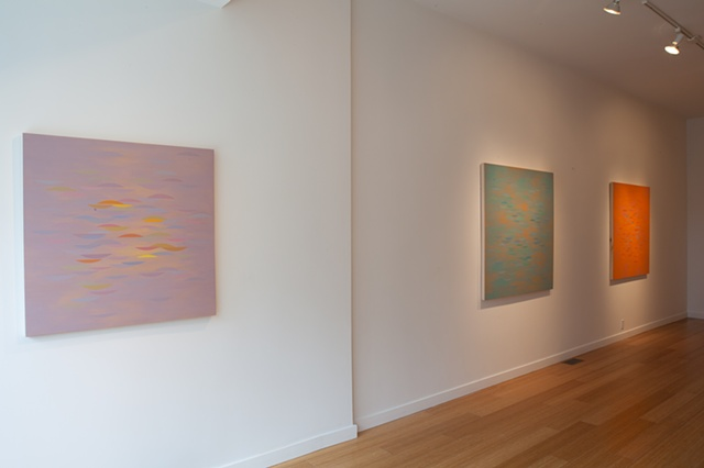 New Paintings 2012 Installation