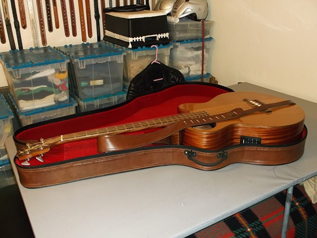 Custom Gospel Bass Guitar Case