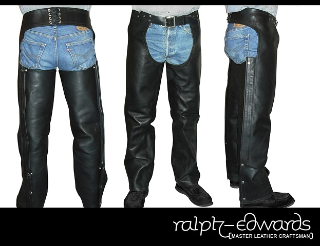Latigo Leather Motorcycle Chaps