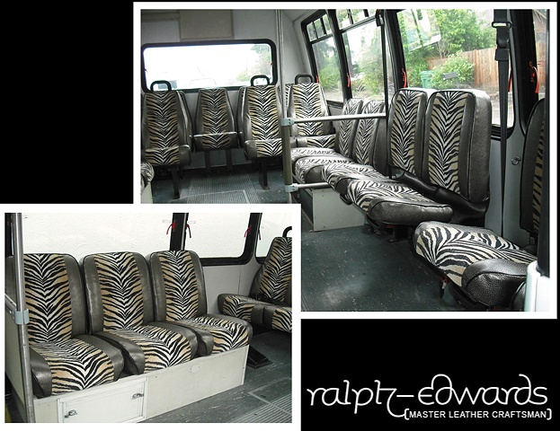 Party Bus re-upholstery