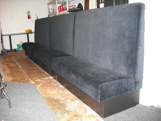 Upholstered Velvet Lounge Seats