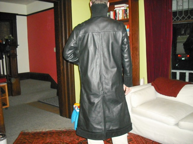 Custom Leather Coat