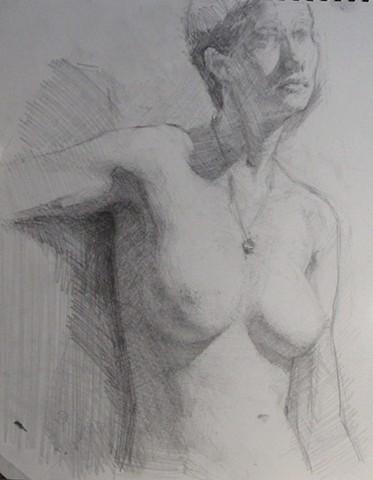 Seated Woman; Torso