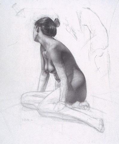 Nude with Averted Gaze