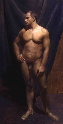 Nude Study; Front View