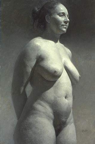 """""""Mary in Grisaille"""""""