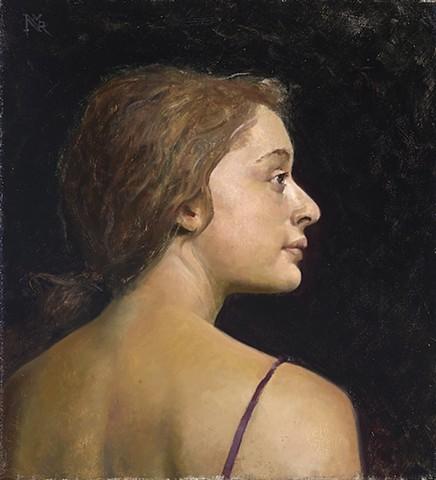 """Portrait of Morgan"""