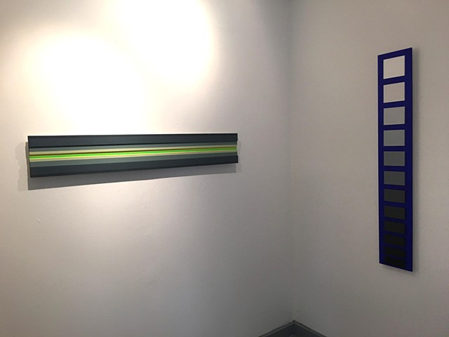 installation view (strip lighting and light up)