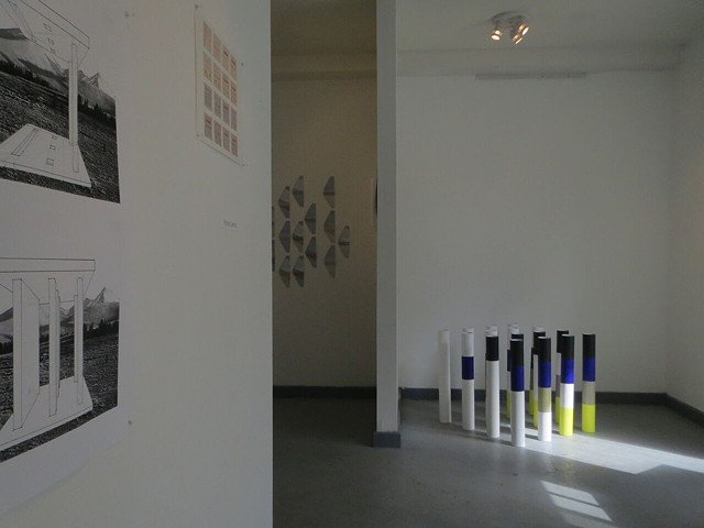 Logic and Structure (a 3-person installation)