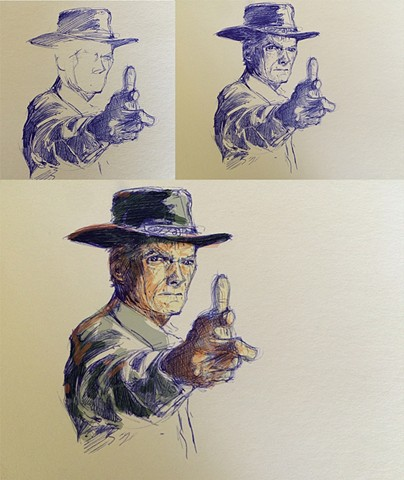Clint character study