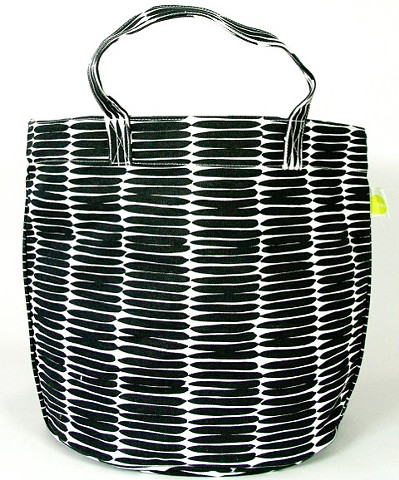 See Design Circle Tote Basket Black