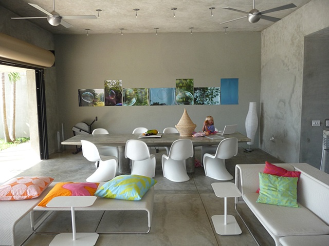 dining room in Vieques