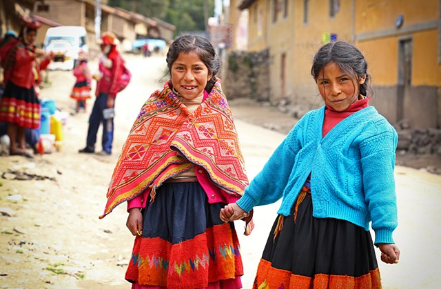 Kids, village of Willaq, Peru