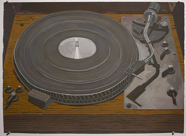 SOLD, Turntable