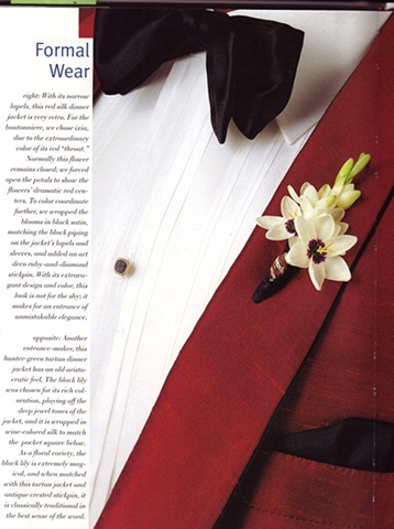 Boutonniere from The Boutonniere Style in One's Lapel book