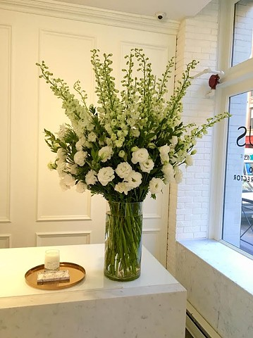 Flowers for Nexxus Salon