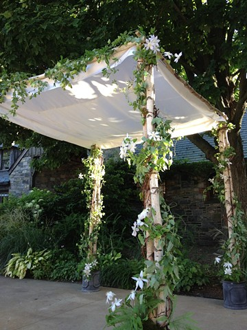 Chuppah at Blue Hill