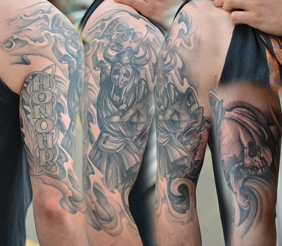 Scottish Warrior Tattoos: Crimson Empire Tattoo