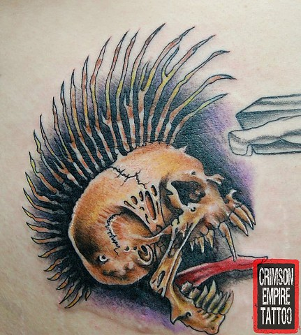 Skull Tattoo - Crimson Empire Tattoo