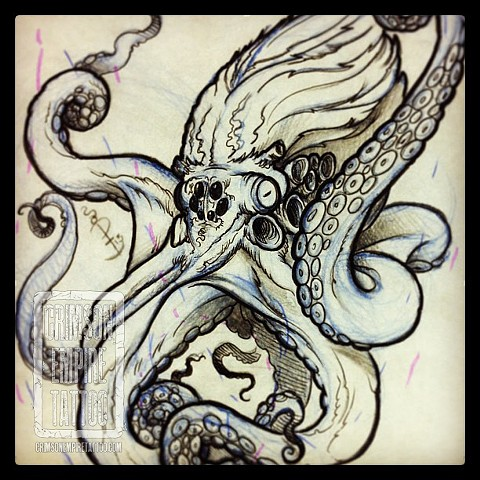 Octopuss sketch by Jared Phair