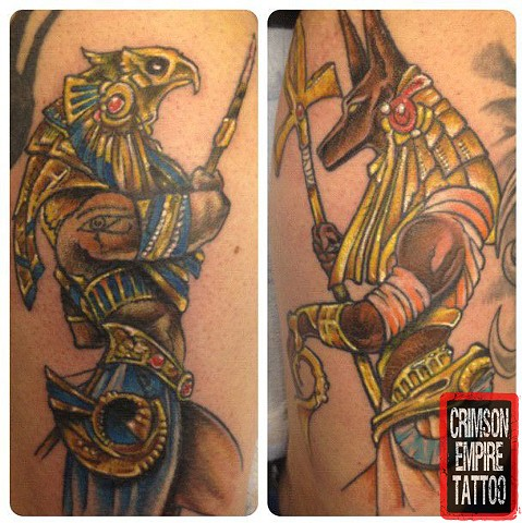 Egytian Tattoo - Crimson Empire Tattoo