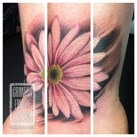 Flower on wrist by Jared Phair