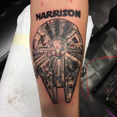 Star Wars Full Color Tattoo
