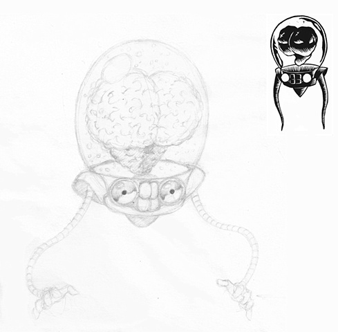 Doodle of The Brain
