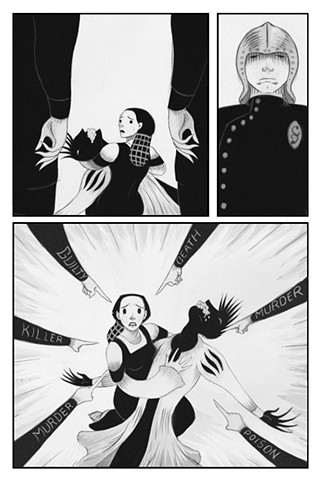 """""""Simona and Pasquino"""" (The Decameron, Day 4, Tale 4) page 5"""