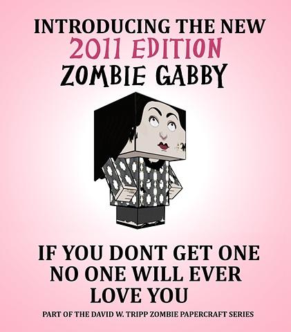 Zombie Gabby Poster