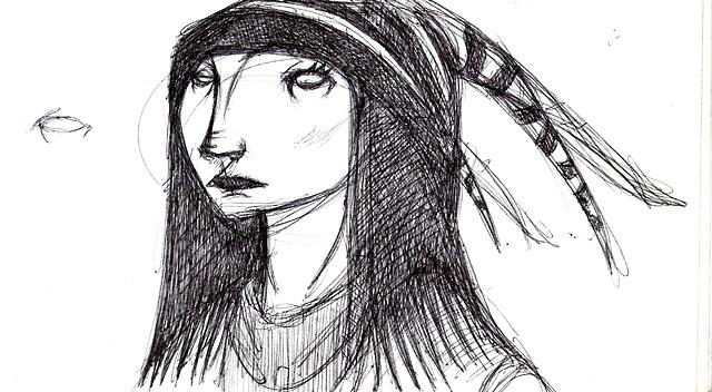 Portrait of Emily Face