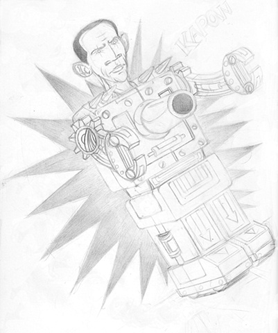 Obamaton Sketch
