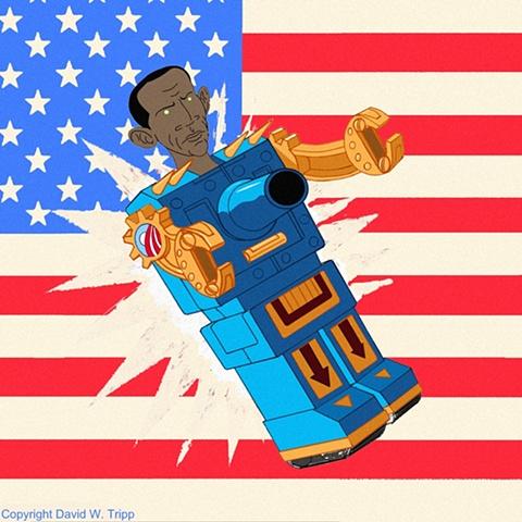 Obamaton (flag)
