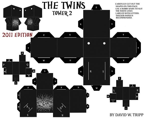 The Twins Papercraft Kit 2
