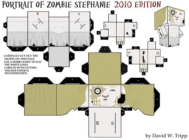 Portrait of Zombie Stephanie