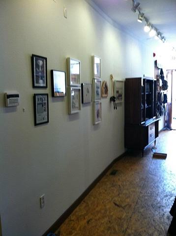 Arcadia Boutique Printed Page Exhibition