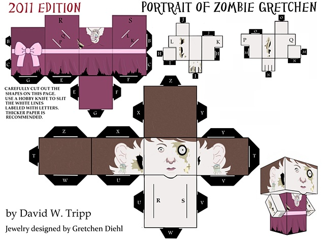 Portrait Of Zombie Gretchen