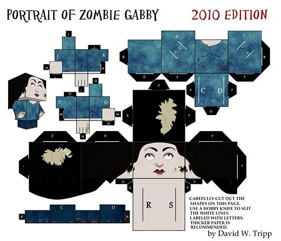 Zombie Gabby 2010