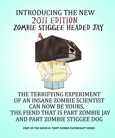 Zombie Stiggee Headed Jay Poster