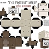 The Protest Papercraft Kit 2011 Template