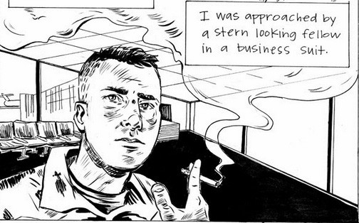 Dominic Umile:: Invisible Wounds Minicomic Review